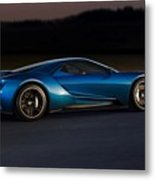 269243 Car Ford Gt Race Tracks Metal Print