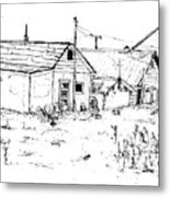 26th Street Fairbanks 1975 No.2 Metal Print