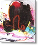 Abstract Landscape Painting Metal Print