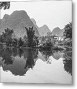 Yulong River Scenery Metal Print