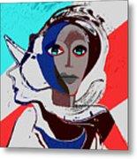270 - Flashy Woman - Poster 2   Metal Print