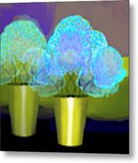2701 Blue Flowers 2018 V Metal Print