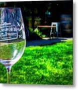 2719- Mauritson Wines Metal Print