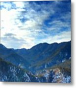 Lake Landscape Metal Print