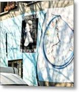 Mural Painting In Saludecio Metal Print