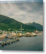 Scenery Around Alaskan Town Of Ketchikan Metal Print