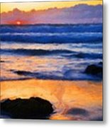 Nature Art Landscape Metal Print
