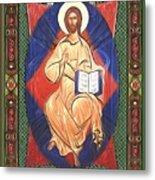 Jesus Christ Religious Art Metal Print