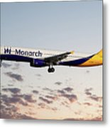 Monarch Airbus A321-231 Metal Print