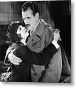 Silent Film Still: Couples Metal Print