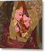 297 - Anna Mary Jesus Child Metal Print