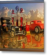 2at Pumps Metal Print