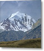 2d07508 High Peak In Lost River Range Metal Print