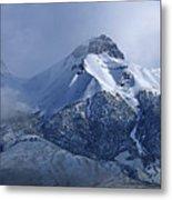2d07513 Fresh Snow On Mt. Mccaleb Metal Print