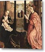2luke Rogier Van Der Weyden Metal Print