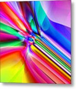 2x1 Abstract 303 Metal Print