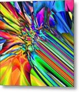 2x1 Abstract 308 Metal Print