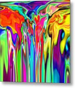 2x1 Abstract 312 Metal Print