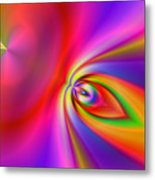 2x1 Abstract 418 Metal Print