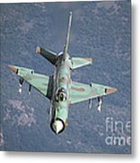 A Bulgarian Air Force Mig-21bis Armed Metal Print