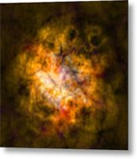 Abstract Stars Nebula Metal Print