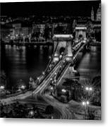 An Evening In Budapest Metal Print