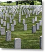Arlington Cemetery Washington Dc Usa Metal Print