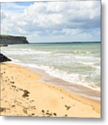 Arromanches Beach Metal Print