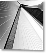 Arthur Ravenel Jr Bridge Charleston Sc Cooper River Metal Print