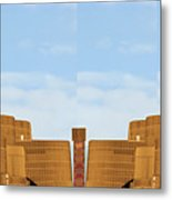 Atalantic America Board Walk And Architecture July 2015 Photography By Navinjoshi At Fineartamerica. Metal Print