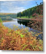 Autumn Derwent Reservoir Derbyshire Peak District Metal Print
