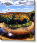 Autumn In Arrowhead Provincial Park Metal Print