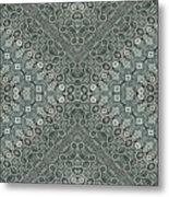 Aztec Navajo Pattern Background Metal Print