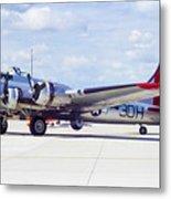 B-17 Bomber 5 Metal Print