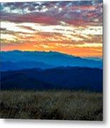 Bald Mountain Sunset Metal Print