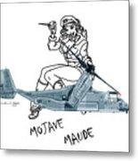 Bell Boeing Cv-22b Osprey Mojave Maude Metal Print