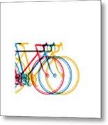 Bike Art Metal Print
