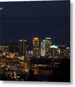 Birmingham Skyline Metal Print