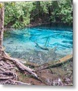 Blue Pool Metal Print