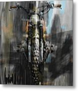 Bmw Motorcycle Metal Print