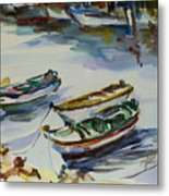 3 Boats I Metal Print