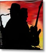 Bruce Springsteen Clarence Clemons Metal Print