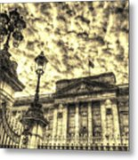 Buckingham Palace Vintage Metal Print