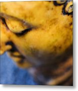 Buddha Sculpture Metal Print