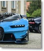 Bugatti Chiron And Vision Gt Metal Print