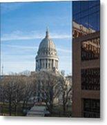 Capitol - Madison - Wisconsin Metal Print