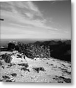 Carrauntoohil Summit Metal Print