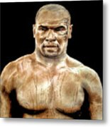 Champion Boxer And Actor Mike Tyson Metal Print