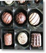 Chocolates Metal Print