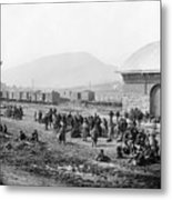 Civil War: Prisoners, 1864 Metal Print